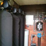 Комплекная очистка= аэрация Oxidaizer+Умягчение+2Колонны на активированом угле+ колбаВВ20 на полипропилене+гидробак на 50литров